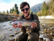 Nice Rainbow trout, October