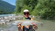 Trophy Rainbow trout, July