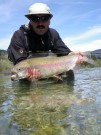 Dmytry and monster Rainbow trout April
