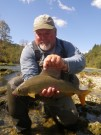 Fred and trophy Grayling 2012 Sept.