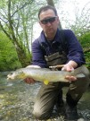 Mich and good Marble trout April